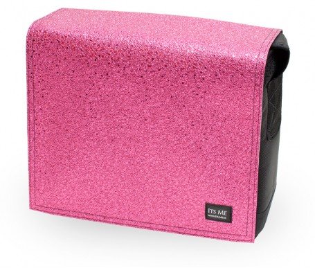 Stoff Deckel pink