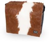 Kuhfell Taschen Deckel zweifarbig